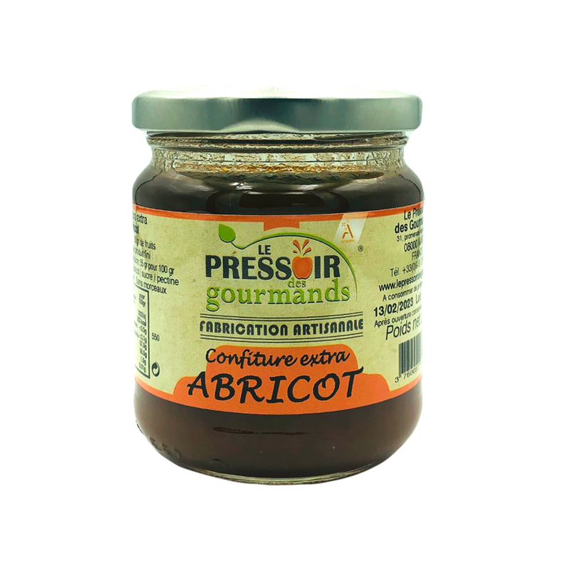 Confiture extra d'abricots