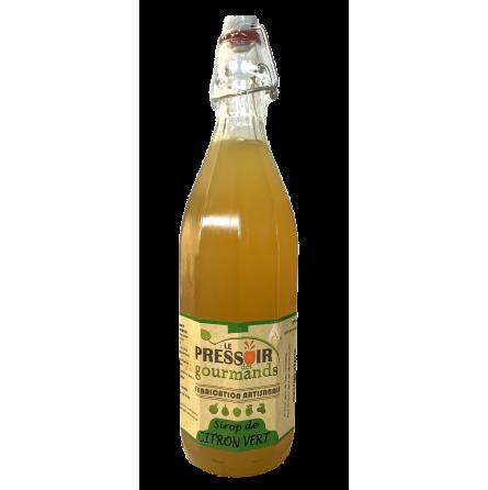 Sirop de citron vert 1 litre