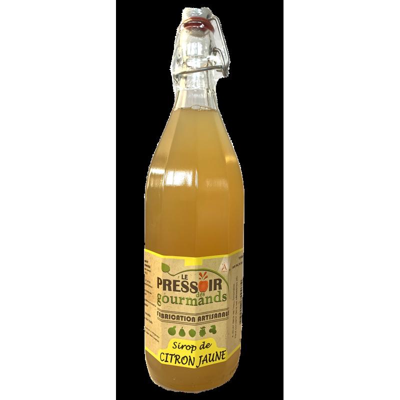 Sirop de citron jaune 1 litre