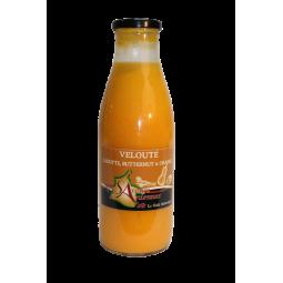 Velouté de carottes au butternut et oranges
