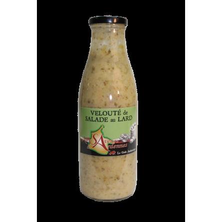 Velouté de salade aux lards