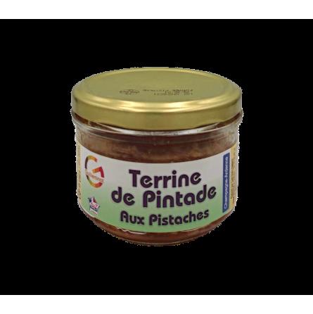 Terrine de pintade aux pistaches