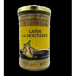 Lapin à la moutarde 750gr