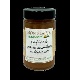 confiture de pommes caramélisées au beurre salé